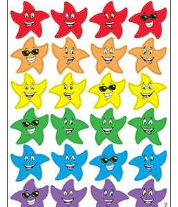Colourful Star Smiles / Fruit Punch
