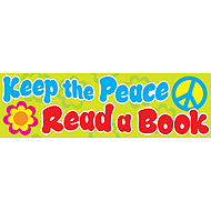 Keep the peace. Read a book