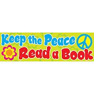 Keep the peace. Read a book