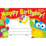 Happy Birthday! Owl-Stars
