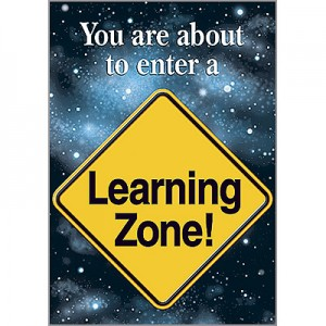 You are about to enter a Learning Zone