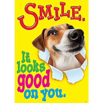 Smile… It looks good on you.