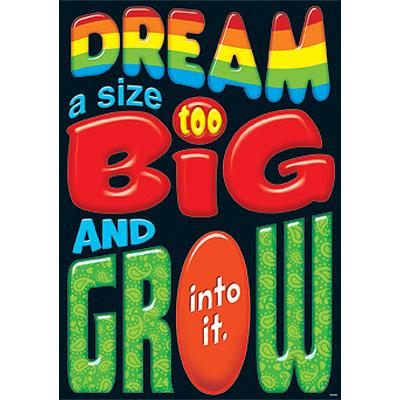 Dream a size too big…
