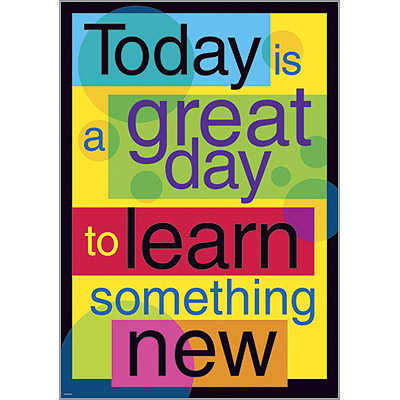 Today is a great day to Learn…