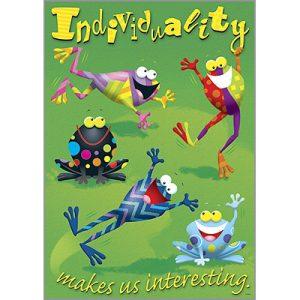 Individuality makes us interesting