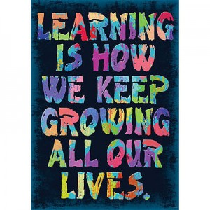 Learning is how we keep growing…