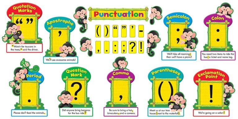 Monkey Mischief Punctuation